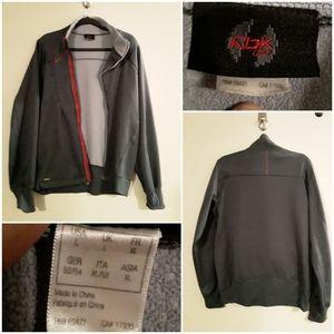 Reebok Men's Zip-Up Activewear Type Sweatshirt